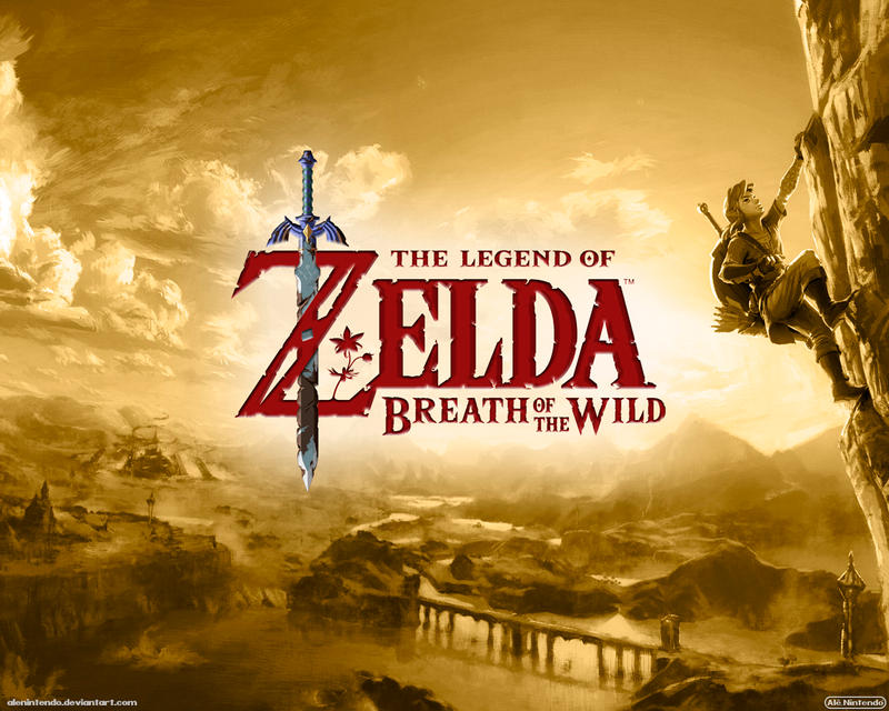 Zelda: Breath Of The Wild (Gold)