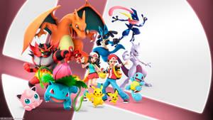 Smash Ultimate Pokemon Team