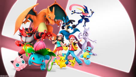 Smash Ultimate Pokemon Team by AleNintendo