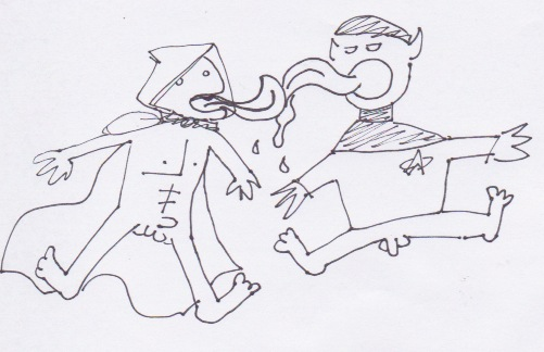 SPOCK AND EZIO SLASH by AbnerCadaverII