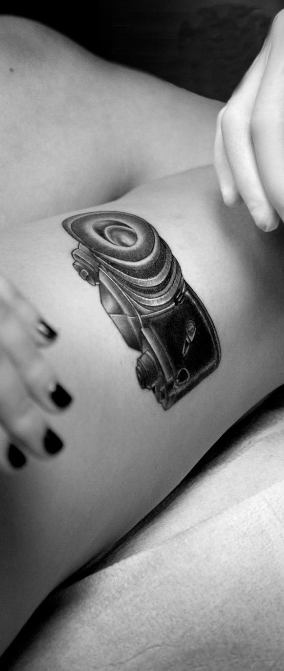 camera tattoo by gbaby0101