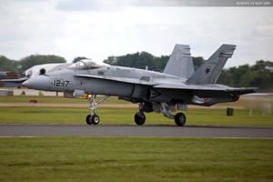 Spanish F 18 by JHILLS