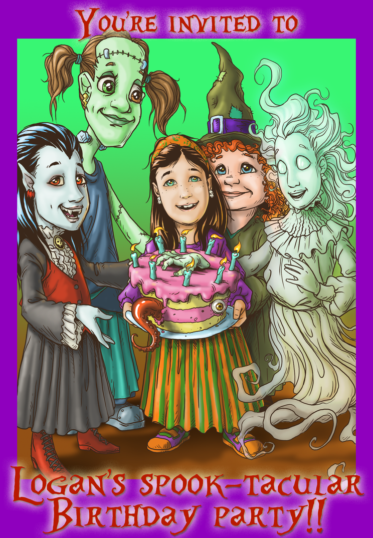 My DAughter's Birthday Card by D-Cranford