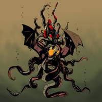 Hellboy: Decent by D-Cranford