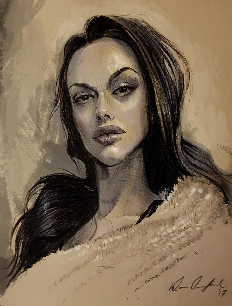 Kristen Aubin by D-Cranford
