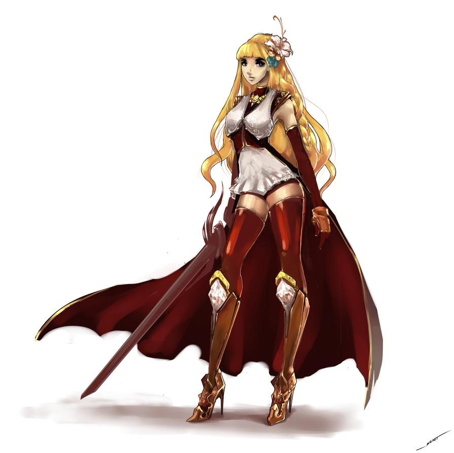 Elven Knight Dfo