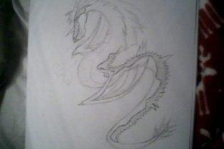 Dragon by wolfartmarker
