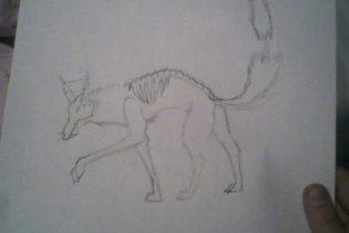 Skully wolfy by wolfartmarker
