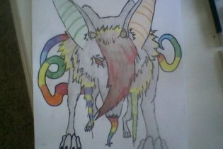 rainbow by wolfartmarker