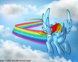 Rainbowdash by Neko-luvz