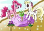 Pinkie pie and Yellowstar