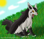 An Angry Mightyena
