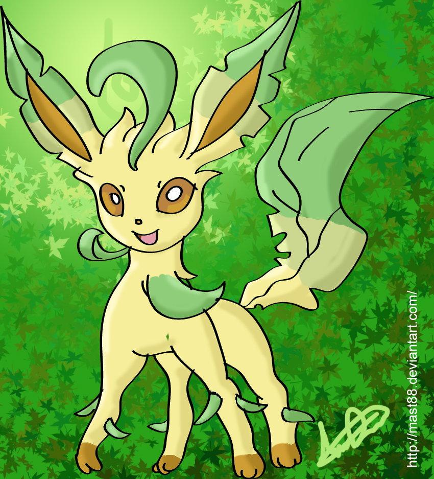 Leafeon by Mast88