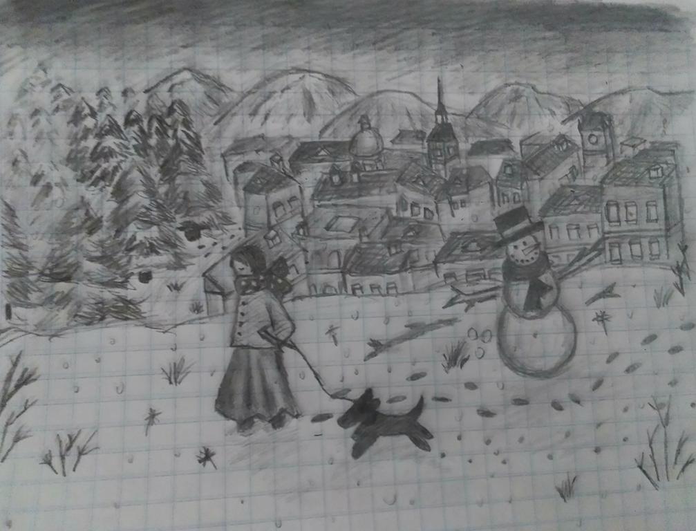 Snowman by MOonSTR