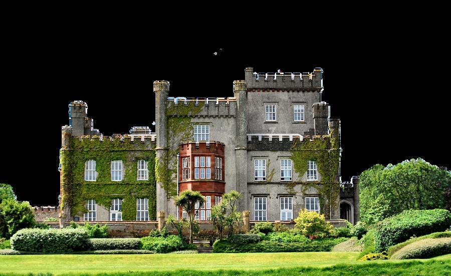 Haunted Castle.. by WelshDragonStockNArt