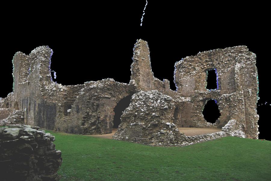 Castle Ruins.. by WelshDragonStockNArt