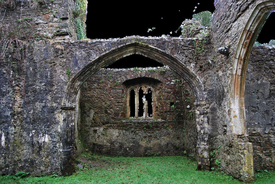 Church Ruins.. by WelshDragonStockNArt