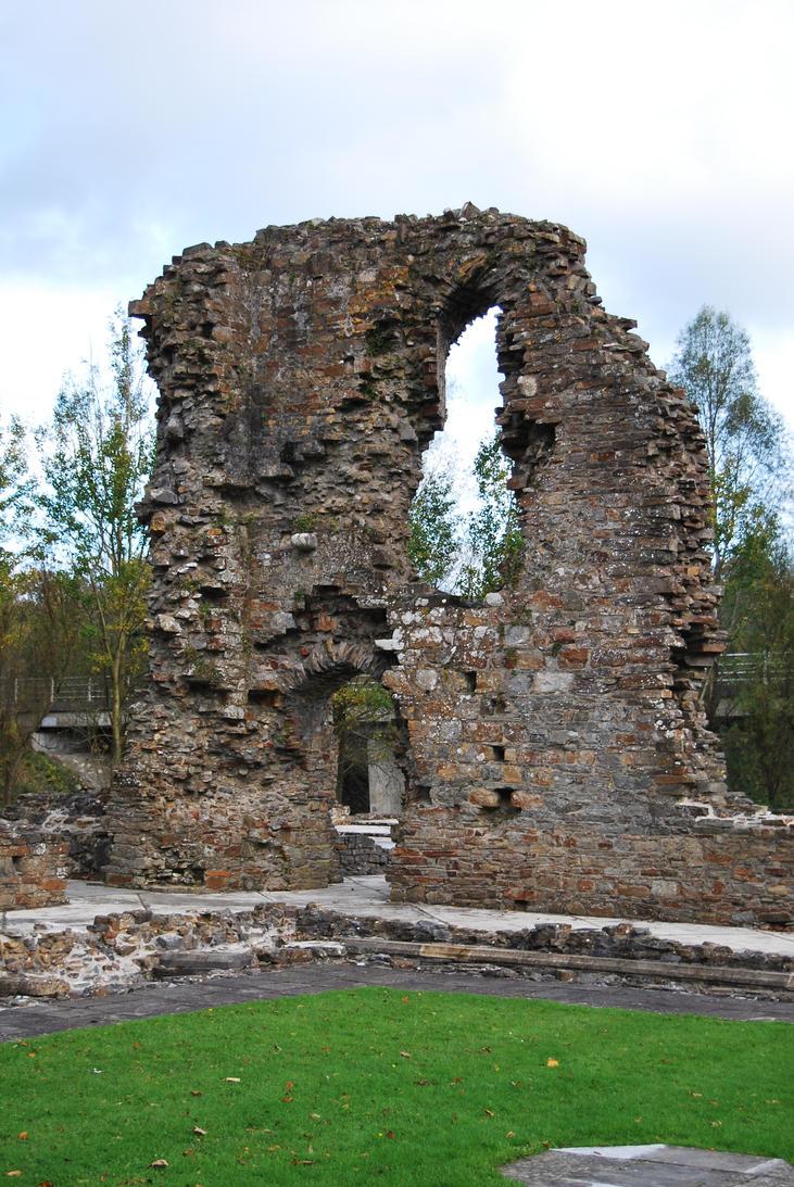 Old Priory Ruins 06.. by AledJonesDigitalArt