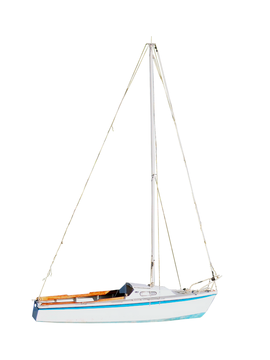 Sail Boat PNG.. by Alz-Stock-and-Art