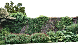 Walled Garden PNG. by AledJonesDigitalArt