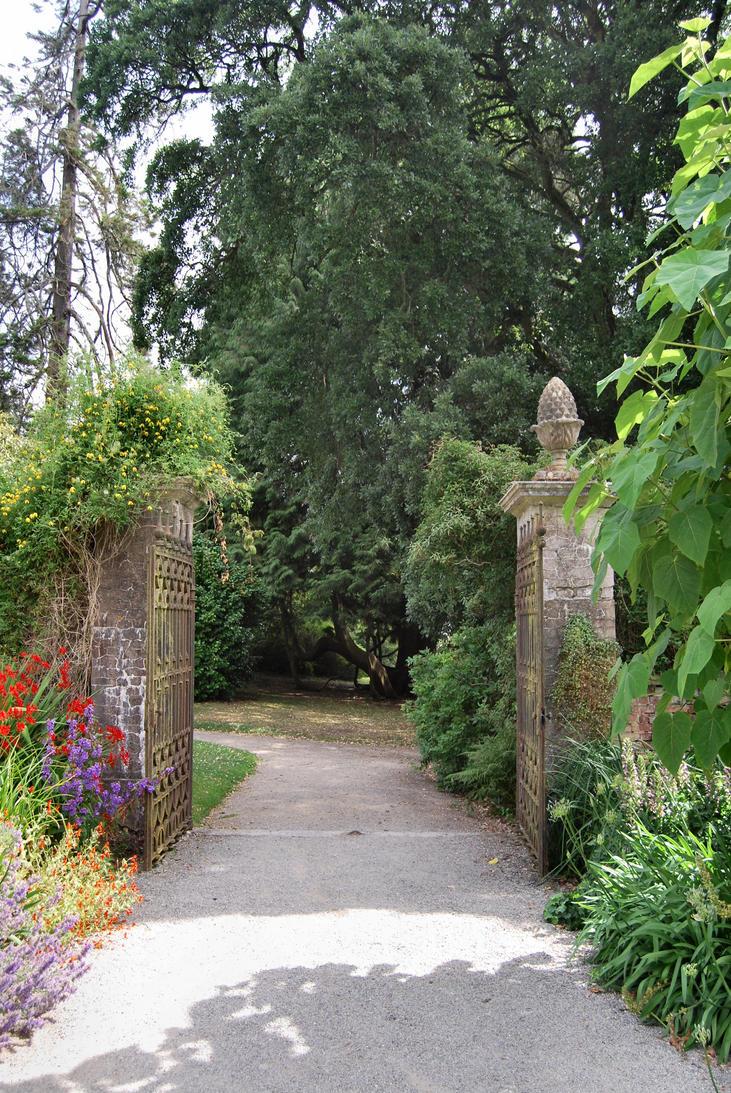 garden gateway by aledjonesstocknart on deviantart