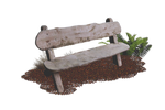 Wooden Bench PNG..