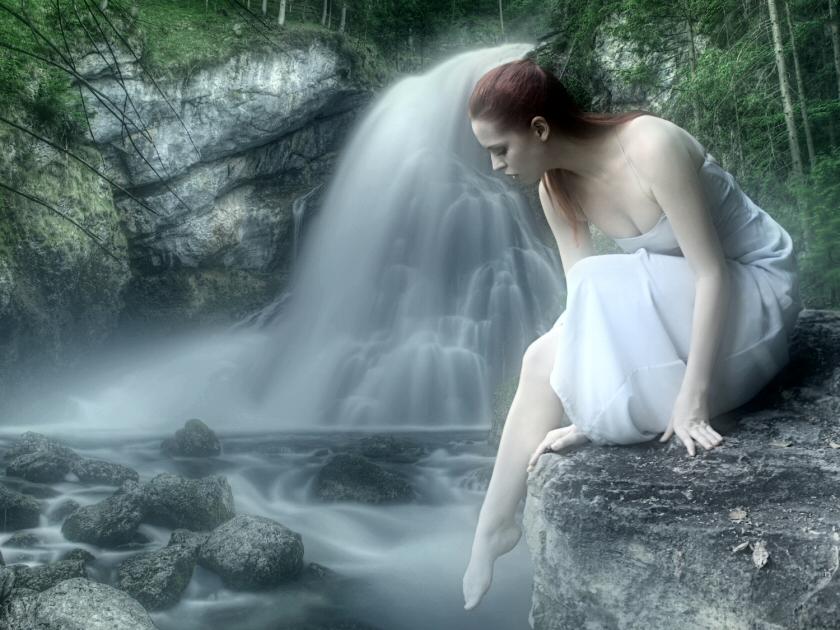 The Water's Edge.. by WelshDragonStockNArt
