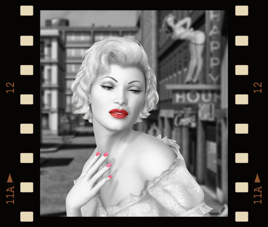 Marilyn.. by Alz-Stock-and-Art
