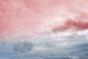 Pinky Blue Sky.. by AledJonesDigitalArt