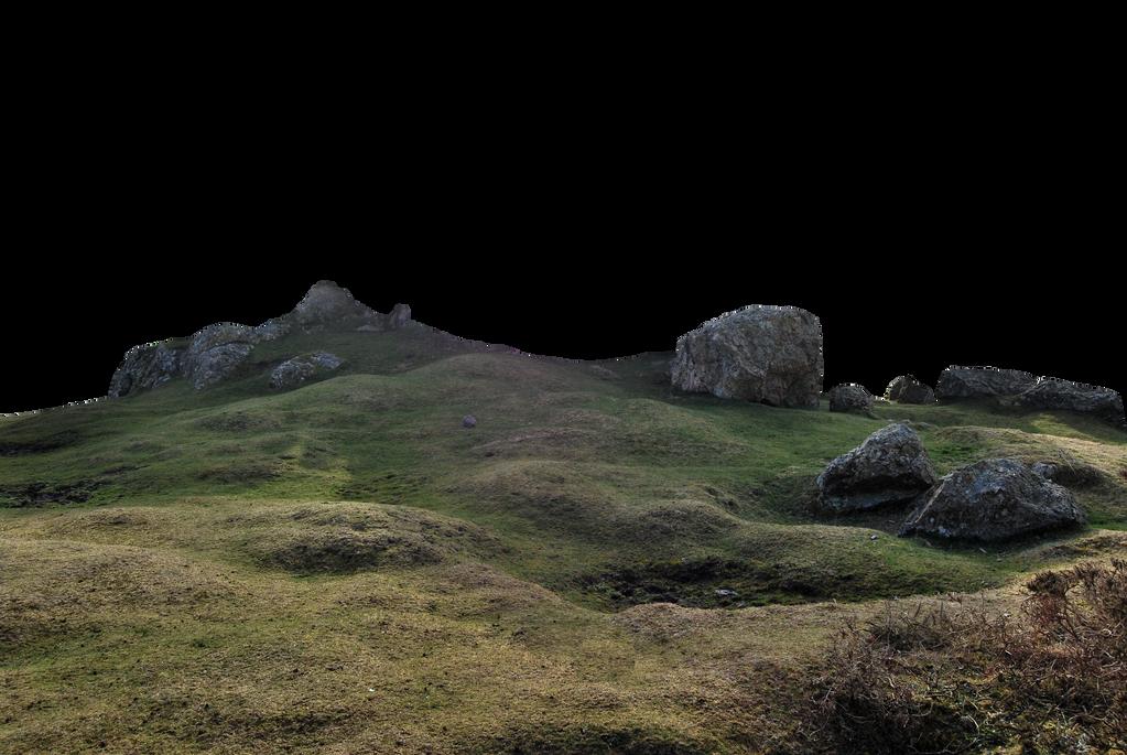 Rocky Landscape PNG. by WelshDragonStockNArt