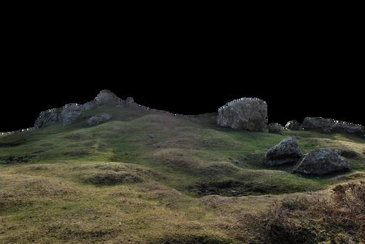 Rocky Landscape PNG.