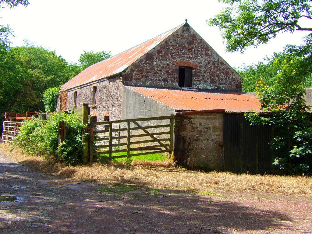 Old farm building by aledjonesdigitalart on deviantart for Farm house construction