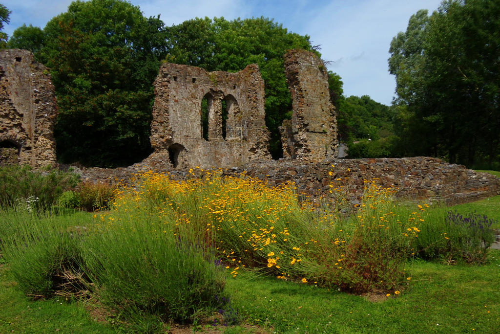 Ruined Old Priory.. by WelshDragonStockNArt
