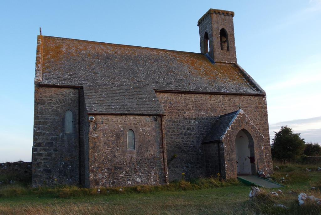 Flimston Church.. by WelshDragonStockNArt