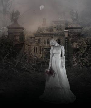 Ghostly Figure.. by AledJonesDigitalArt