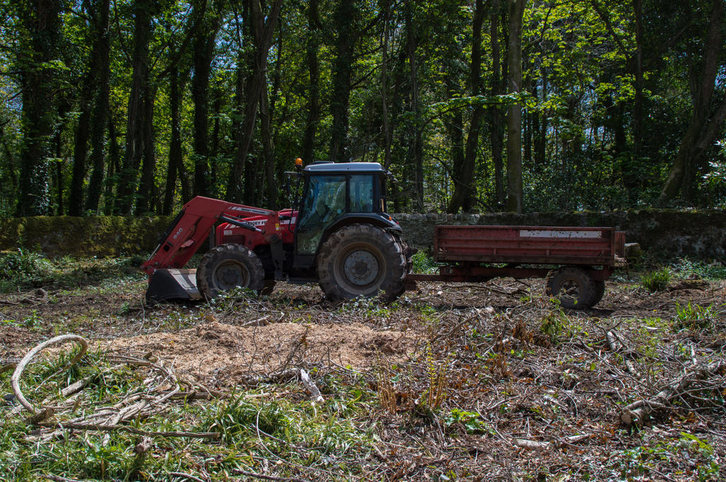 Tractor Trailer Stock : Tractor and trailer stock by aledjonesdigitalart on