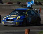 Bob Fowden Subaru Impreza WRC.. by AledJonesDigitalArt