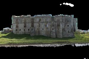 Castle Ruin PNG Stock July 2016.. by AledJonesDigitalArt