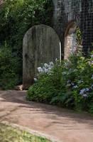 Garden Doorway Stock.. by AledJonesDigitalArt