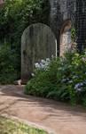 Garden Doorway Stock..