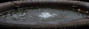 Water fountain.. by AledJonesDigitalArt
