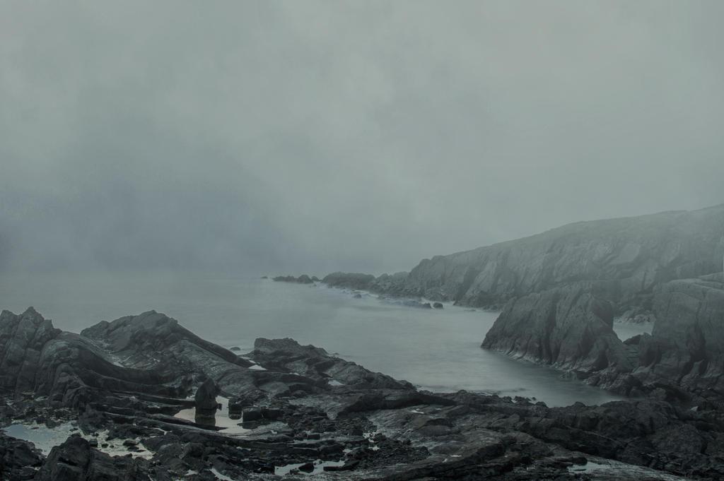 Misty Seascape Premade.. by AledJonesStockNArt