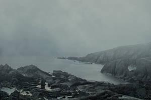 Misty Seascape Premade..