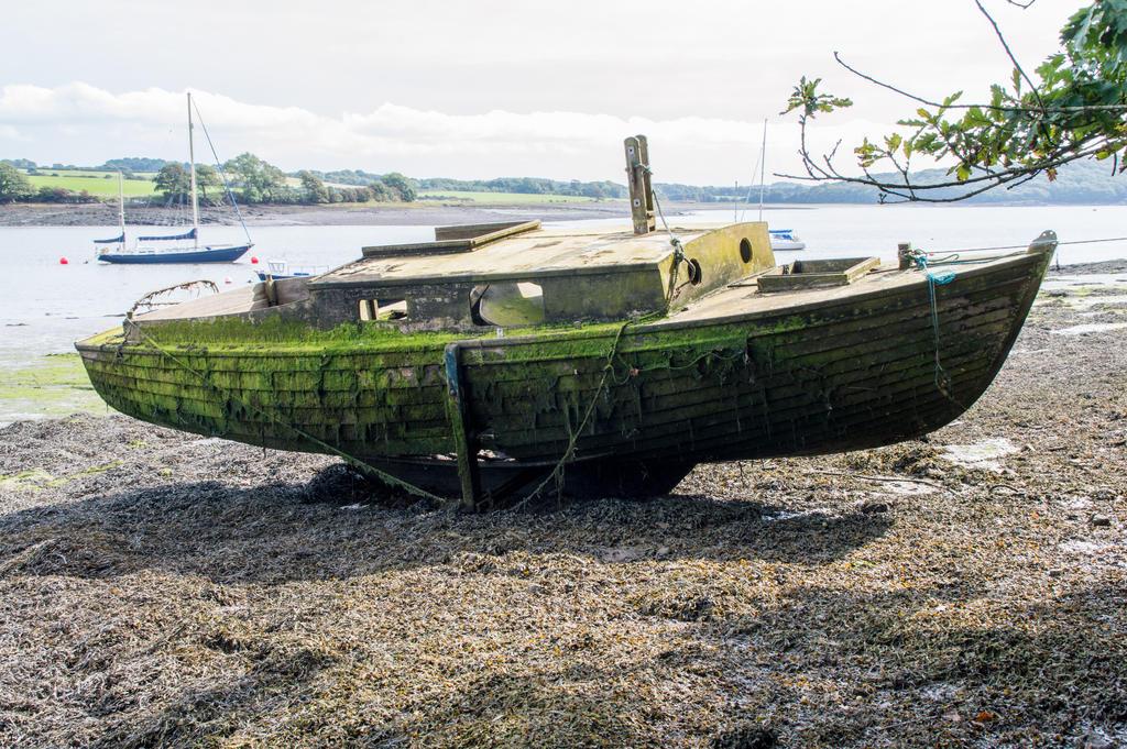 Boat wreck 01.. by AledJonesStockNArt