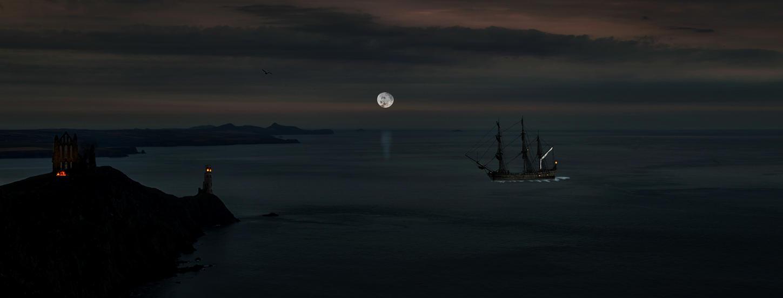 Dark Waters.. by AledJonesStockNArt