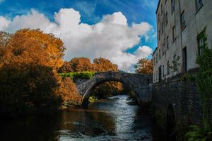 The Old Mill And Bridge..