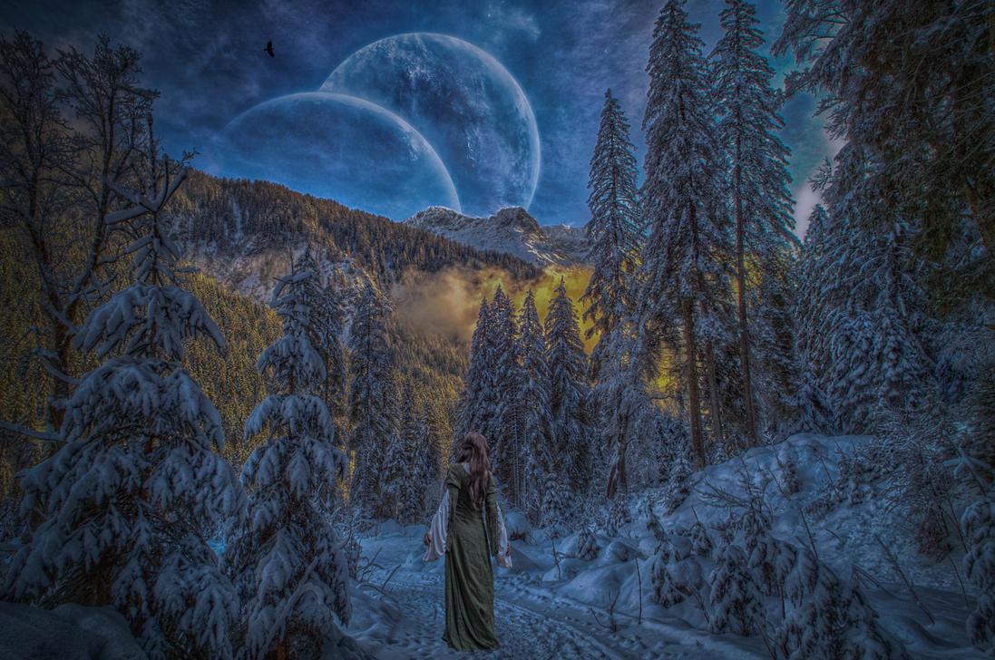 Walking In A Winter Wonderland.. by AledJonesStockNArt