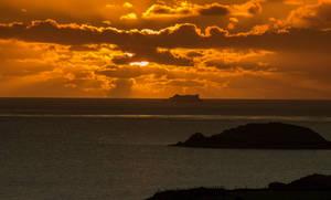 Sailing The Sunset..
