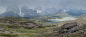 Mountainscape..