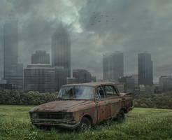 Urban Decay.. by AledJonesDigitalArt